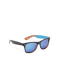 Red Herring - Blue ombre-effect D-frame sunglasses
