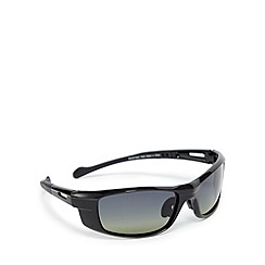 Mantaray - Green polarised wrap-around sunglasses