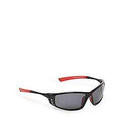 Mantaray - Red polarised wrap-around sunglasses