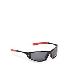 Mantaray - Red polarised wrap-around sunglasses