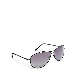 Mantaray - Grey polarised aviator sunglasses
