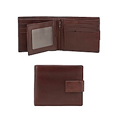 RJR.John Rocha - Brown fold out pass leather wallet