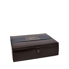 Hammond & Co. by Patrick Grant - Brown leather watch box