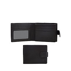 Hammond & Co. by Patrick Grant - Black leather wallet in a cufflink box