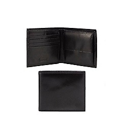 Mantaray - Black leather wallet
