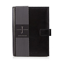 J by Jasper Conran - Black leather organiser