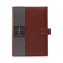 J by Jasper Conran - Brown leather A5 notebook