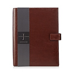 J by Jasper Conran - Brown leather large organiser