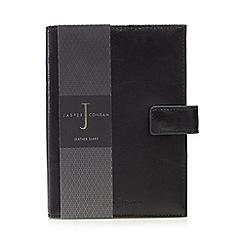 J by Jasper Conran - Black leather diary