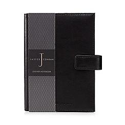 J by Jasper Conran - Black leather notebook