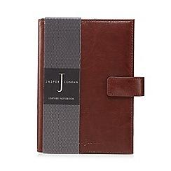 J by Jasper Conran - Tan leather notebook