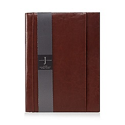 J by Jasper Conran - Tan leather business document and tablet holder