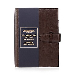 Hammond & Co. by Patrick Grant - Brown leather organiser