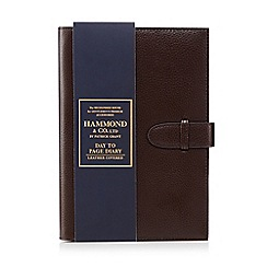 Hammond & Co. by Patrick Grant - Dark brown leather day diary