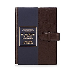 Hammond & Co. by Patrick Grant - Brown leather notebook