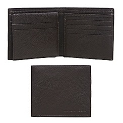 RJR.John Rocha - Brown leather wallet in a gift tin
