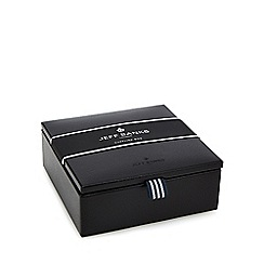 Jeff Banks - Black small cufflink box