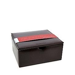 RJR.John Rocha - Brown leather watch and cufflink box