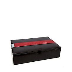 RJR.John Rocha - Dark brown large watch box