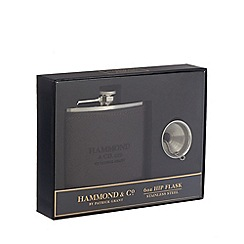 Hammond & Co. by Patrick Grant - Stainless steel hip flask