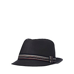 J by Jasper Conran - Dark grey trilby hat