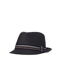J by Jasper Conran - Black trilby hat