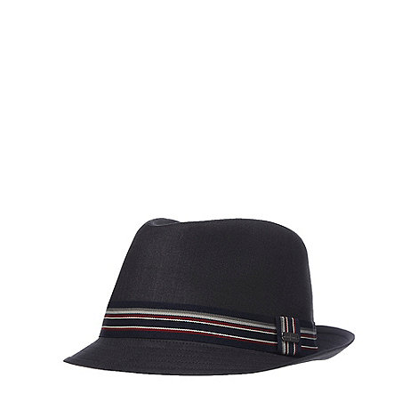 J by Jasper Conran - Black trilby hat