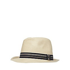 J by Jasper Conran - Natural trilby hat