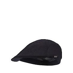 J by Jasper Conran - Navy pique flat cap