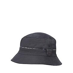 Mantaray - Multi-coloured check print reversible bucket hat