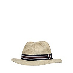 Osborne - Natural straw panama hat