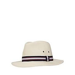 Osborne - Natural structured ambassador hat