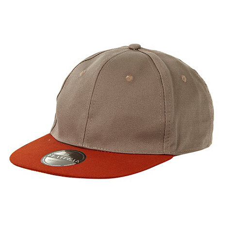 Red Herring - Grey flat peak cap