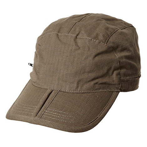 Maine New England - Khaki folding train driver cap