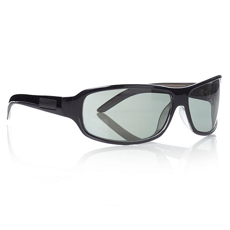 Bloc - Green wrap sports sunglasses