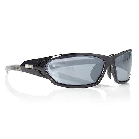 Bloc - Grey tinted half frame sunglasses