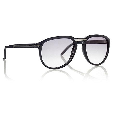 Carrera - Black +Pocket Flag+ folding aviator sunglasses