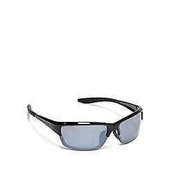 Mantaray - Black polarised half frame sunglasses