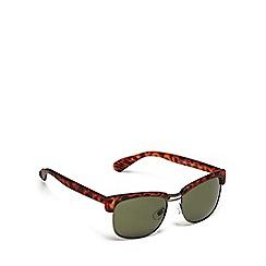 Red Herring - Green half frame sunglasses