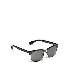 Red Herring - Black Clubmaster sunglasses
