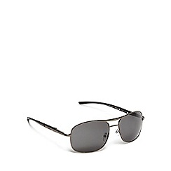 Red Herring - Grey aviator sunglasses