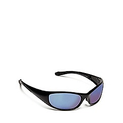 Maine New England - Blue sports wrap sunglasses