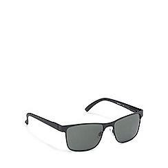 Red Herring - Black tinted semi rimless sunglasses