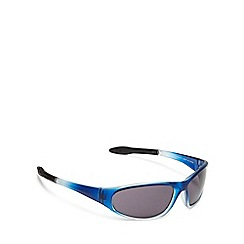 Maine New England - Blue gradient sports wrap sunglasses