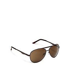 Red Herring - Black aviator sunglasses