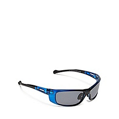 Mantaray - Blue polarised wrap around sunglasses