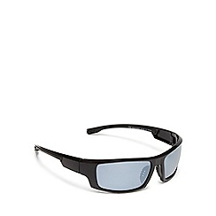 Mantaray - Blue tinted polarised sports wrap around sunglasses