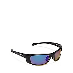 Mantaray - Black men's rectangle two tone sunglasses