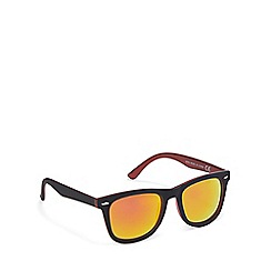 Red Herring - Black two tone square sunglasses