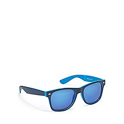 Red Herring - Blue two tone square sunglasses